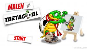 Tartagoal Malen mit Tartagoal Fußball Maskottchen Gemini Labs Christian Seirer